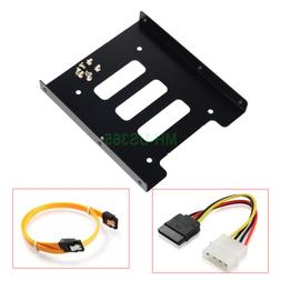 2.5 Inch to 3.5 Inch SSD HDD Adapter Bracket Metal Mounting