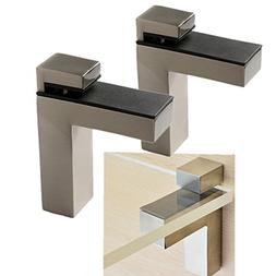 Windspeed 2 Set of Wood/Glass Shelf Bracket Holder/Wall Moun