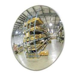 2GVT2 Indoor Convex Mirror, 26Dia, Polycarbonate
