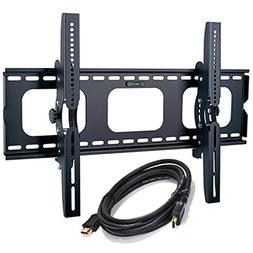 2xhome - NEW TV Wall Mount Bracket w/FREE HDMI cable – Sec
