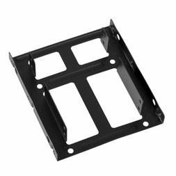 "3.5"" Metal Adapter for Two 2.5"" SSD HDD PC Mounting Bracket"
