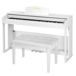 88 Key Weighted Hammer Action Electric Digital Piano w/Bench