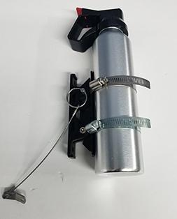 QUICK RELEASE FIRE EXTINGUISHER MOUNT W/CLAMPS