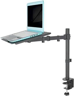 VIVO Single Laptop/Notebook Desk Mount Stand - Fully Adjusta