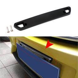 Adjustable Universal Front Rear Bullet Car License Plate <fo