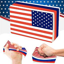 Gbell American Flag Squishies Slow Rising Stress Relief Toys