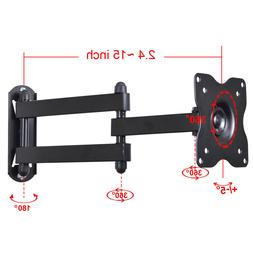 Articulating TV Monitor Wall Mount Bracket for Dell LG 19 22