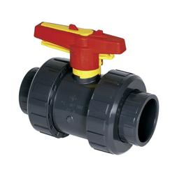 """BALL VALVESPRAHER PVC S4 INDUSTRIAL 3"""" & 4"""", WITH OR WITHO"""