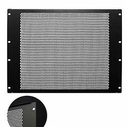 KENUCO Blank Rack Mount Panel Spacer with Venting for 19-Inc