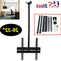 Ceiling Mount Bracket Tilt Swivel TV LCD LED Plasma 26-32 in