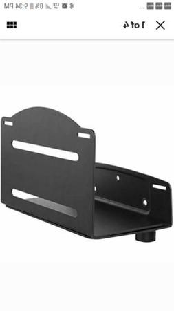 Computer Tower Wall Mount Adjustable PC Mounting Bracket For