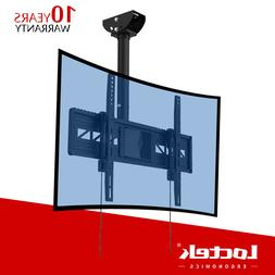 Curved Ceiling TV Wall Mount Bracket LED LCD 4K for Samsung