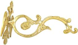 Double Headed Eagle Brass Bracket for Oil Candles or Wall Mo