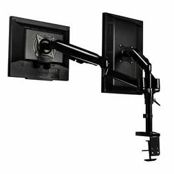 Dual LCD Monitor Spring Arms TV LCD Bracket Desk Mount Stand