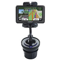 Dual Purpose Adjustable Auto Cupholder Mount and Flexible Wi