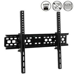 Flat TV Wall Mount Bracket 15° Tilt Swivel For 27 32 37 42