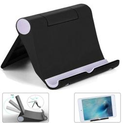 Foldable Cell Phone Desk Stand Holder Mount Cradle For iPhon