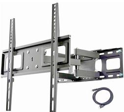 Full Motion Articulating TV Wall Mount Bracket Fits 37-65 TV