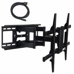 Full Motion Articulating TV Wall Mount for 37-75inch LED LCD