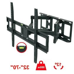 Full Motion HDTV TV Wall Mount VESA Bracket 32 42 46 50 55 6