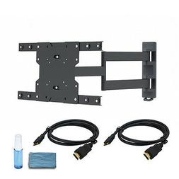 Full Motion LED Samsung TV Wall Mount Bracket 23 26 32 37 40