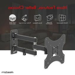 Full Motion TV Wall Mount Bracket Holder Single Stud for 26-