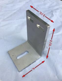 Heavy Duty Stainless Steel Bracket Support With Slotted Moun