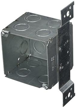 Hubbell-Raco 255 3-1/2-Inch Deep Square Electrical Box, Weld