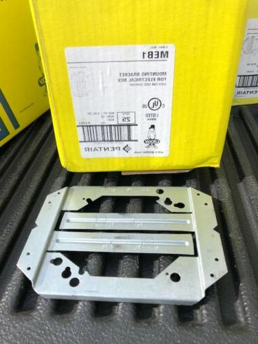 25pcs meb1 mounting bracket for electrical box