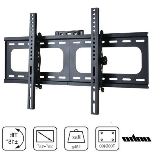 """Large Fixed To Wall Silm Mount For 32 45 55 65 70"""" Screens"""
