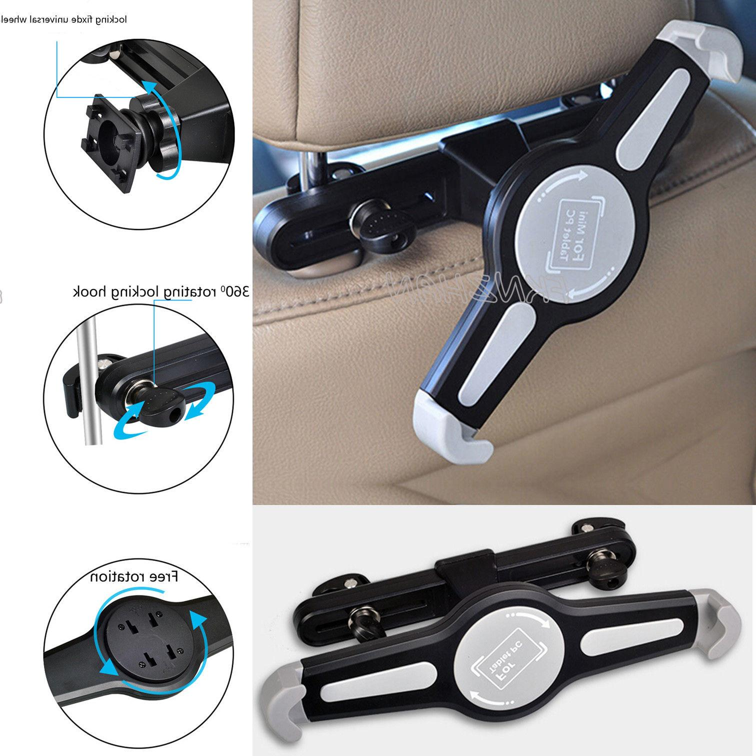 360rotate stand car back seat headrest mount