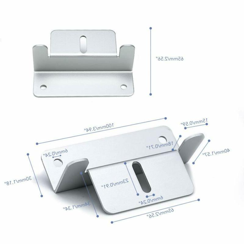 8/16 PCS Panel Z Brackets Mount Boat Roof Wall