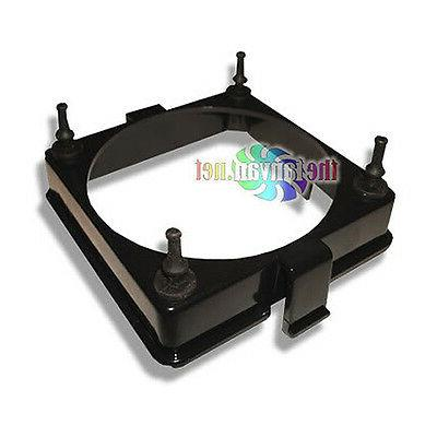 80mm Plastic Mounting Bracket & Rubber Vibration Dampening M