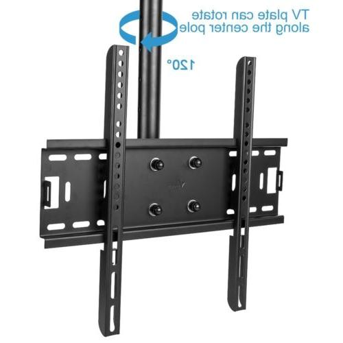 Ceiling Mount TV Wall Bracket Retractable Flat Screen
