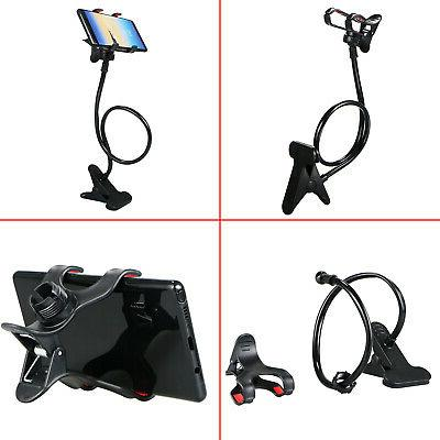 Flexible 360° Cell Phone Holder Bed