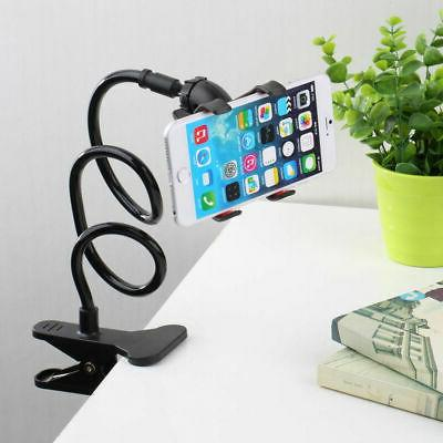 Flexible 360° Clip Cell Phone Bed Bracket Stand