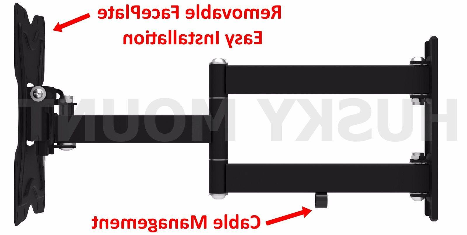 Full TV Wall Mount Bracket 24 32 37 40 LED LCD