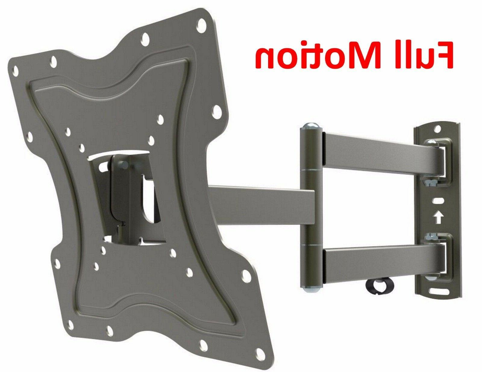 Full Motion TV Wall Mount Articulating Bracket 24 32 37 39 4