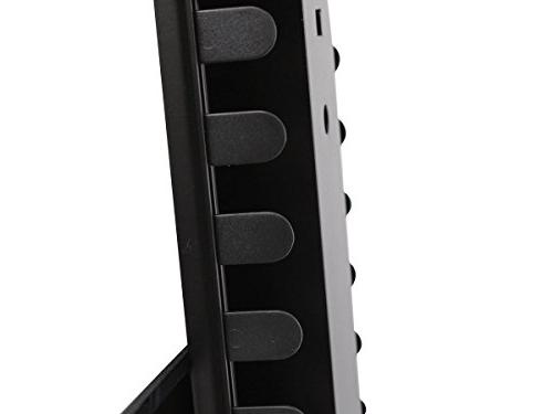 Monoprice 3 Tier Component Glass Shelf Wall Mount Bracket Management System