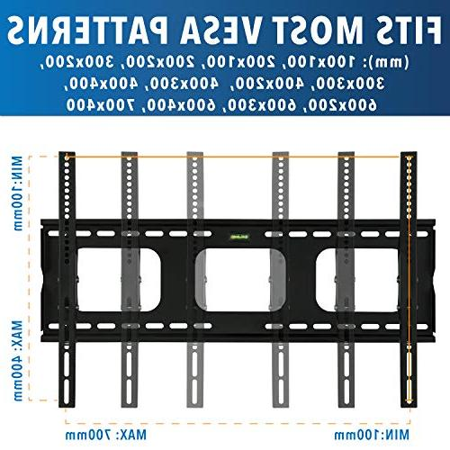 Mount-It! Mount Bracket for - inch LED, or Screen TV, Heavy Load Capacity lbs, 15 Mechanism Up Max VESA 600x400 ft HDMI cable