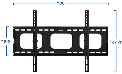 Mount-It! Mount Bracket for - 65 inch LED, or Plasma Screen TV, Load Capacity 175 15 Up Down, VESA 600x400 with ft