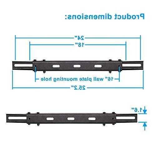 """Mounting Dream TV Wall Mount Extended for 16"""" Wall Fitting Wood Stud, Capacity of"""