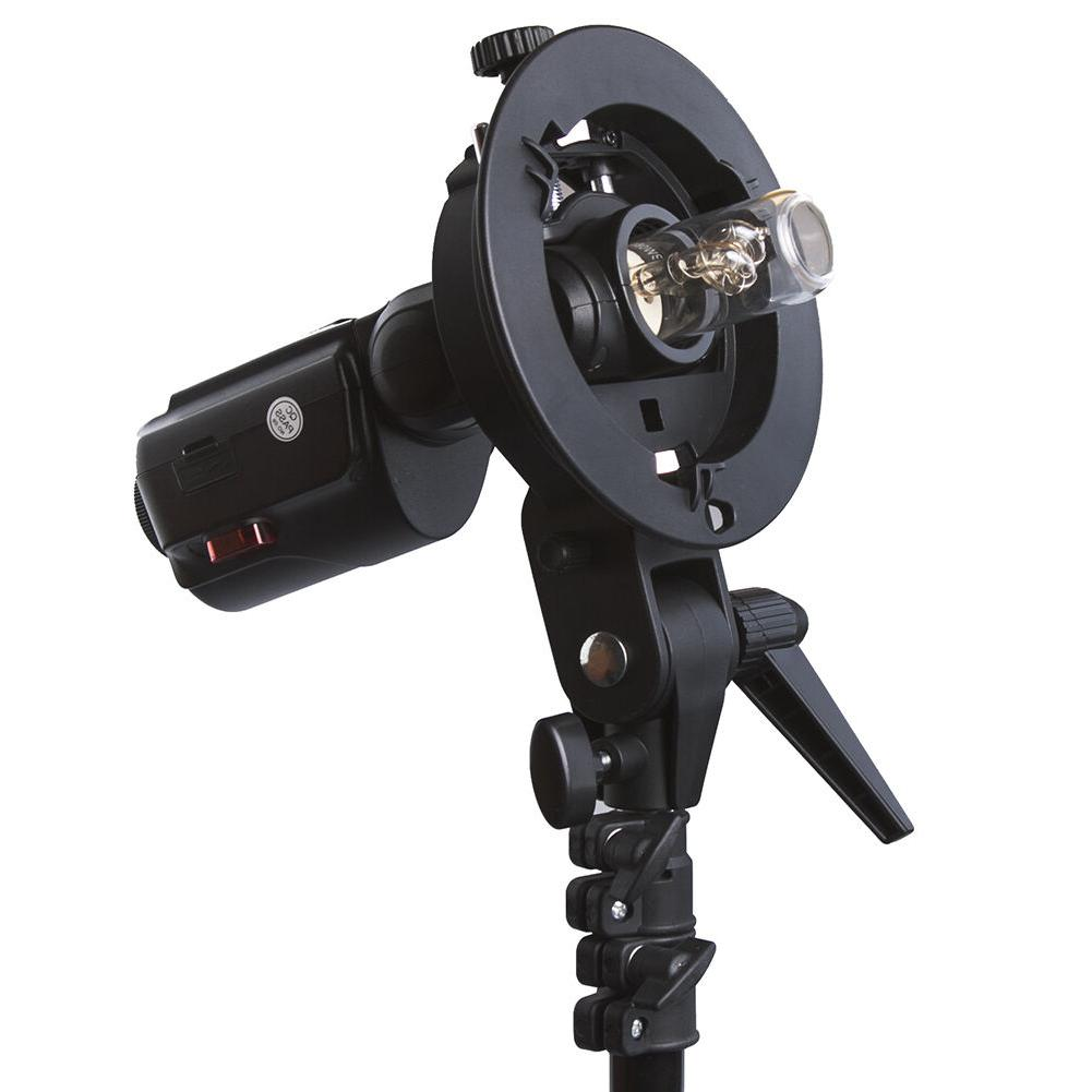 Neewer S-Type Bracket Holder with Bowens Mount for Speedlite