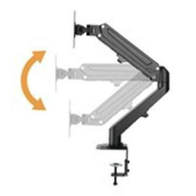 DUAL TV MONITOR BRACKET ARTICULATING IN OUT
