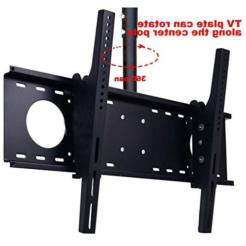 """VideoSecu Adjustable mount for most 37""""-60"""" LCD Flat Panel Display, up to TV Fits Flat MPC53BE 1UO"""