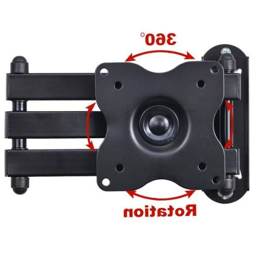 "VideoSecu ML12B Monitor Mount Full Motion inch Extension Arm for 19""-32"", some LED Panel Screen with VESA 75x75"