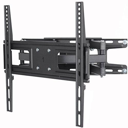 "VideoSecu TV Wall Mount Bracket most 32-65 Inch LED, Screen with Full Motion Tilt Swivel Dual 14"" Extend, up 400x400mm,100"