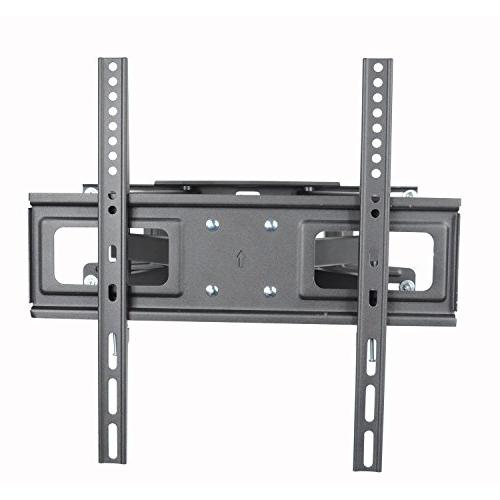 "VideoSecu MW340B2 TV Mount 32-65 LED, OLED Plasma Flat Screen TV, with Full Motion Tilt Swivel Articulating Dual Arms 14"" Extend, up to LBS"