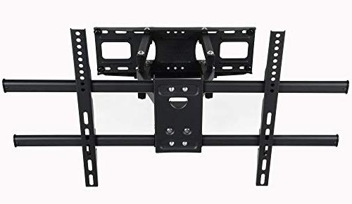 VideoSecu Articulating TV Wall Bracket Most Up with VESA 400x400 150x100mm, Dual Arm Pulls 14""
