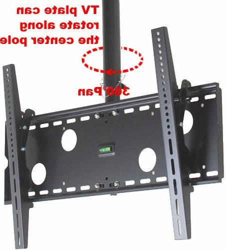 "VideoSecu TV Bracket for most 37"" to Plasma Flat up to 75"" LED VESA 700x400mm, Ceiling from to 63"" MPC51B"